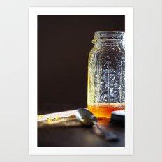 Honey - Kitchen Food Art Art Print