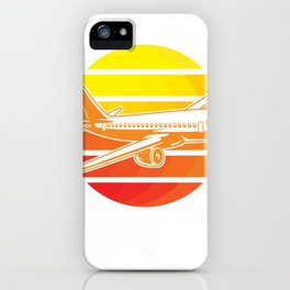 Retro Plane Pilots iPhone Case