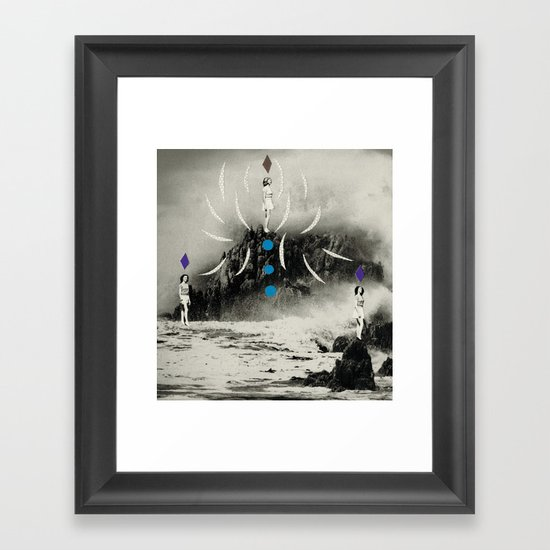 distant sounds Framed Art Print