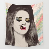 lana Wall Tapestries featuring LANA #2 by Vita♥G