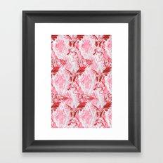 Guardian Angel (Red) Framed Art Print