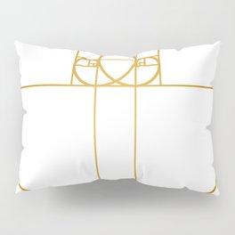 Heart of Gold Pillow Sham