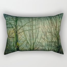 WINTER IN TOWN Rectangular Pillow