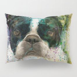 Paint It Frenchie Pillow Sham