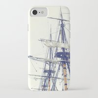 pirate ship iPhone & iPod Cases featuring Pirate Ship  by Bree Madden