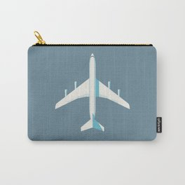 707 Passenger Jet Airliner Aircraft - Slate Carry-All Pouch