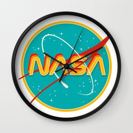 NASA RETRO Wall Clock