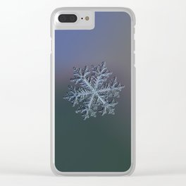 Real snowflake - Hyperion dark Clear iPhone Case
