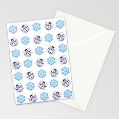 C1.3D Snowmoji Stationery Cards