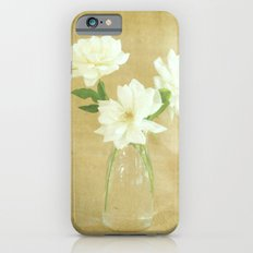 Burlap and Roses Slim Case iPhone 6s