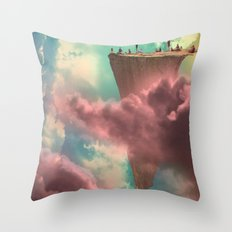 The Fiscal Cliff Throw Pillow