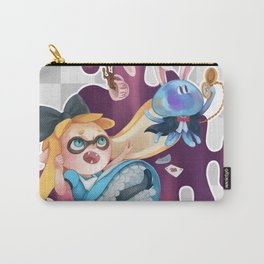 Squid in Wonderland Carry-All Pouch