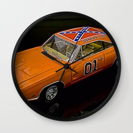 General Lee Wall Clock