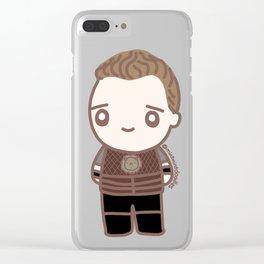 Tom as Coriolanus Clear iPhone Case