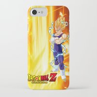 dragonball z iPhone & iPod Cases featuring Vegeta Dragonball Z best idea by customgift