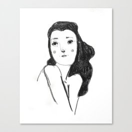 Femme No.1 Canvas Print
