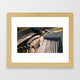Hinze Dam Color Framed Art Print