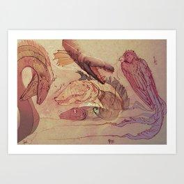 Palani Art Print