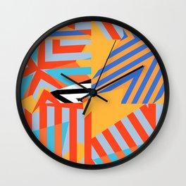 stripe layers Wall Clock