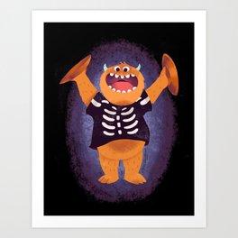 Smashing Halloween Art Print