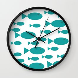 Pececitos Wall Clock
