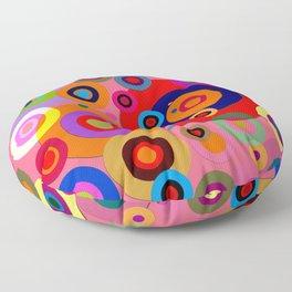 Op Art #18 Floor Pillow
