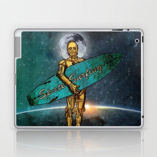 Space Surfer Laptop & iPad Skin