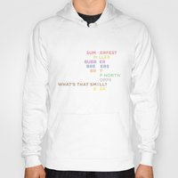milwaukee Hoodies featuring The Words of Milwaukee by tinyconglomerate