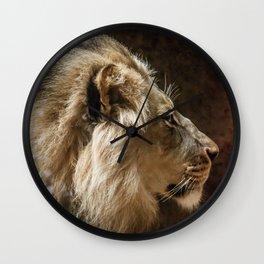 Lion Profile Wall Clock