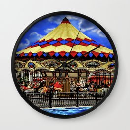 Ultimate Carousel Wall Clock