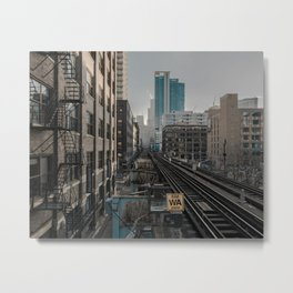 Morning Fader Metal Print