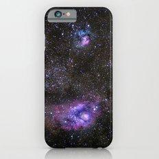 Lagoon and Trifid Nebula in Sagitarius Slim Case iPhone 6s