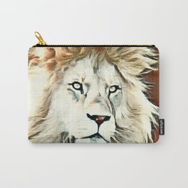 Warm colored Lion King Carry-All Pouch