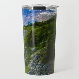 Views along the Wilcox Pass Hike in Jasper National Park, Canada Travel Mug