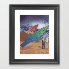 Space Dirt Framed Art Print