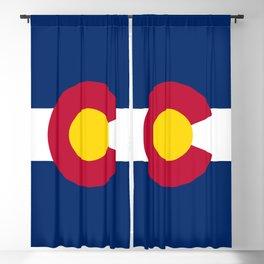 Colorado State Flag Blackout Curtain