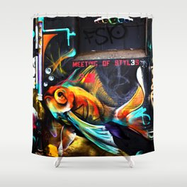 Meeting of Styles Shower Curtain