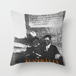 Ancestors, Cut-throats  Throw Pillow