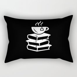 Tea and Books Tealover Gift Rectangular Pillow