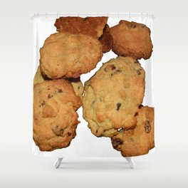 home made cookies Shower Curtain