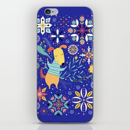 Happy Dog Year iPhone Skin