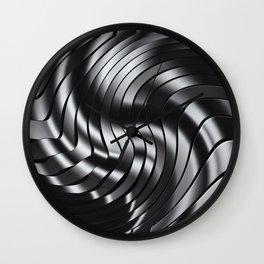 BLACK & WHITE III Wall Clock