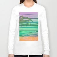 island Long Sleeve T-shirts featuring Island by Katilinova