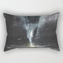 We come in peace Rectangular Pillow