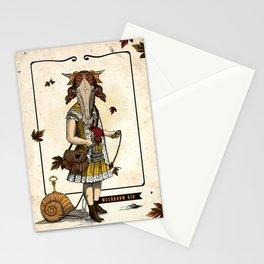 Mushroom Kid Stationery Cards