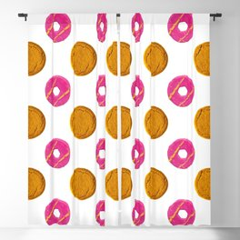 Biscuit Polka Dots Pattern Blackout Curtain