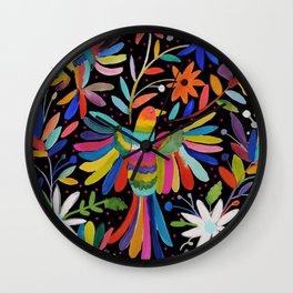 pajaros Otomi Wall Clock