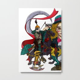 Last Battle no 1 Metal Print