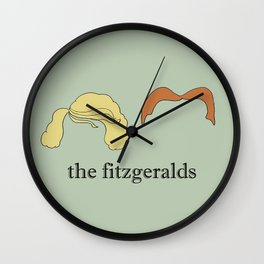 The Fitzgeralds Wall Clock