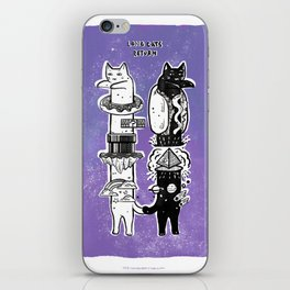 long cats return iPhone Skin